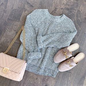 H&M Marl Crewneck Knit Sweater